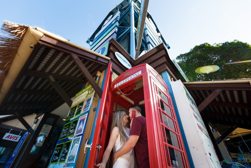 phone booth in Airlie Beach