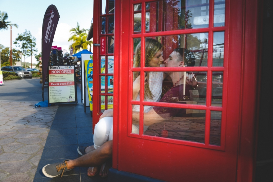 phone booth for love and fun