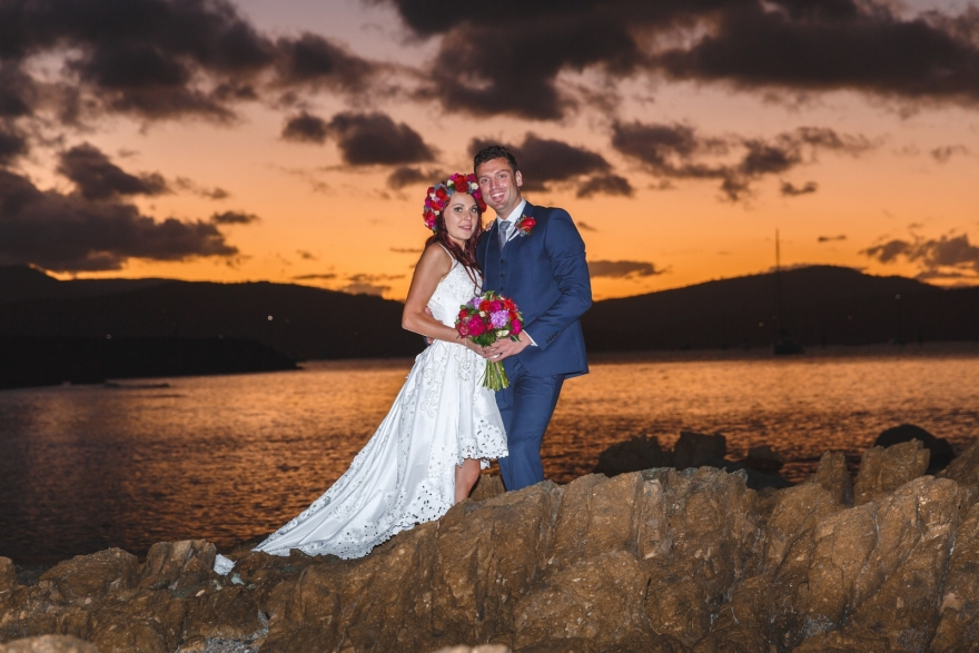 sunset-airlie-beach-coral-sea-resort-wedding-photographer