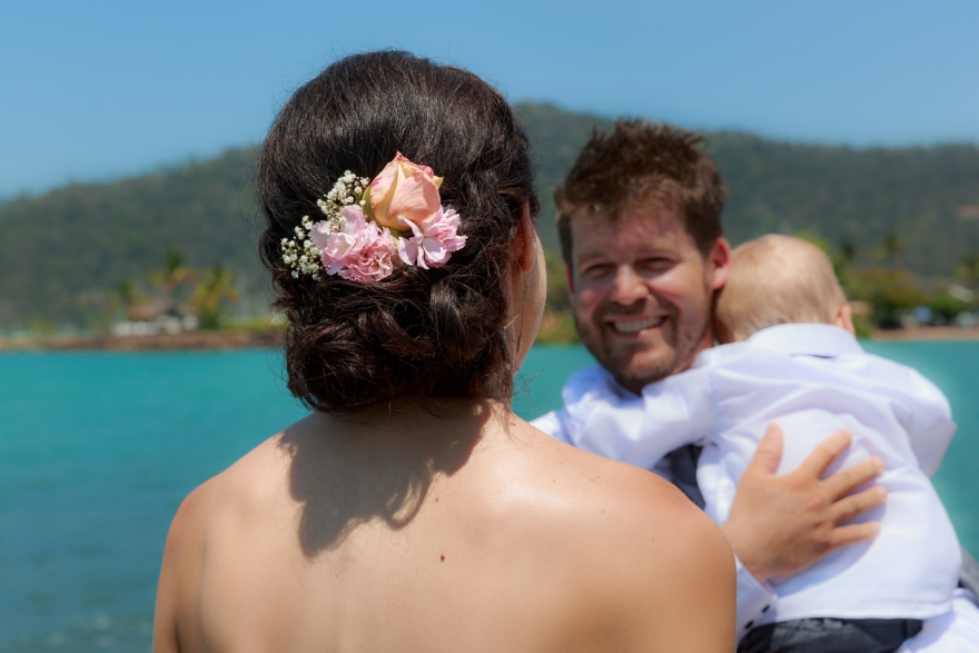 Airlie Beach wedding photography