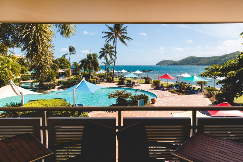 NW view from Daydream Island Spa, Wedding Photography