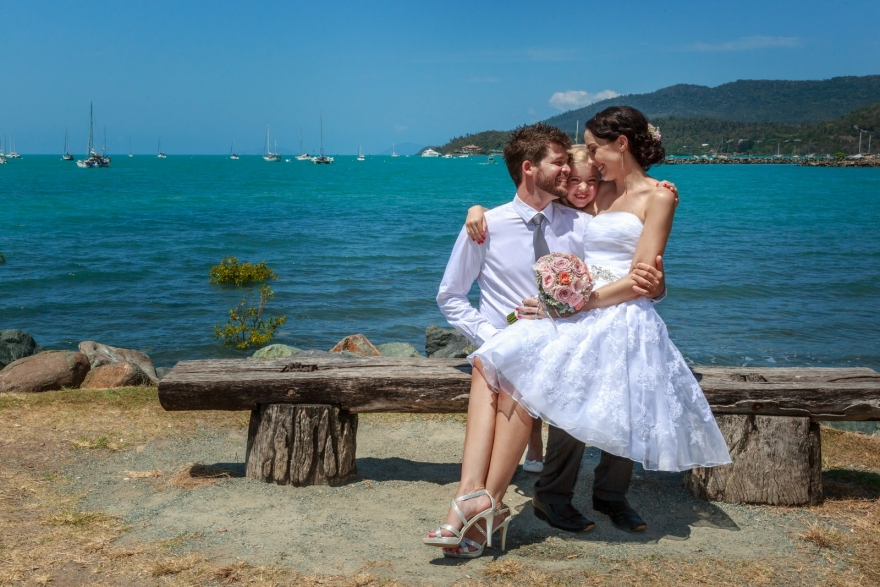 Airlie Beach wedding photographer