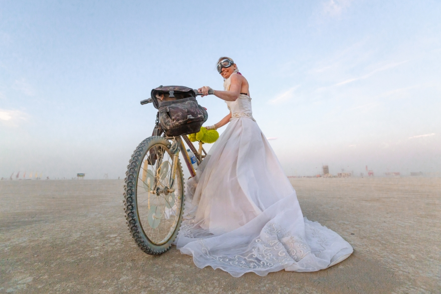 Burning Man 2015 wedding