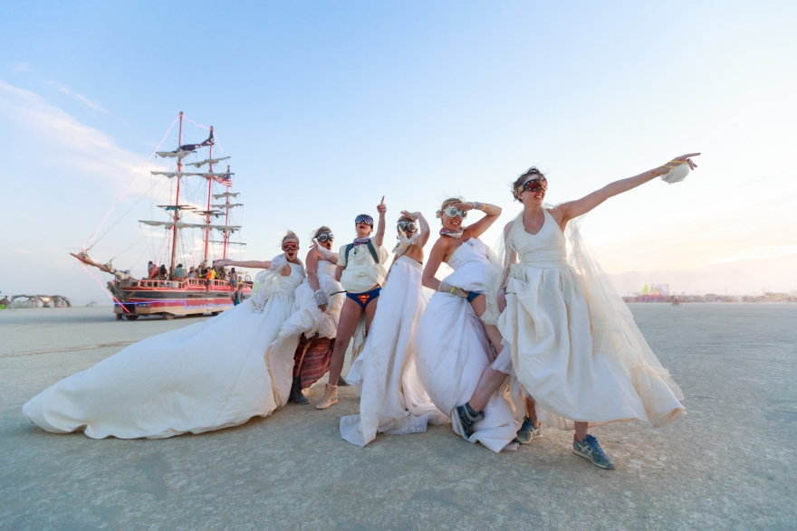 Burning Man Wedding Photographer