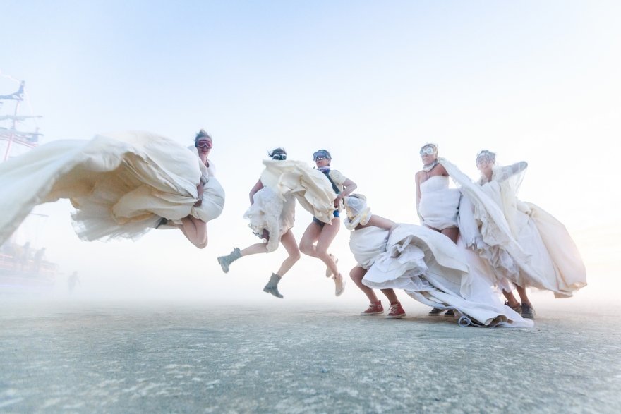 Brides, Burning Man 2015