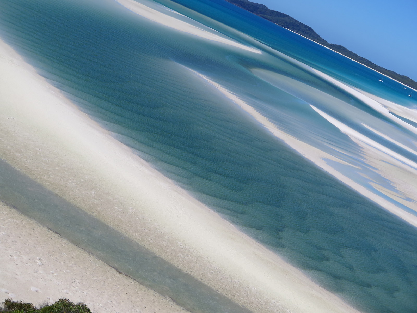 Hill Inlet. Whitehaven Beach.